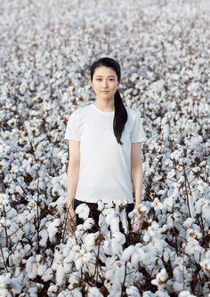 シャツは畑で生まれます。 | 無印良品