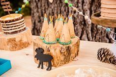 L'anniversaire de Levi thème camping - anniversaire enfant, kidbirthday, camping, deco, tipi, gateau