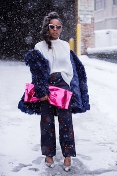 Winter Chic - All The Fabulous Street Style Looks During New York Fashion Week