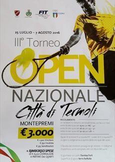 III Torneo Open Città di Termoli domenica 7 agosto la finale