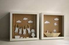 Caja diorama. Mi barco de papel diorama de papel Original por Caracarmina