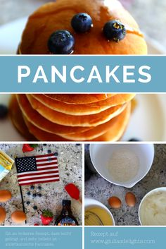 The best pancake topping is more pancakes and syrup. Pancake Toppings, Strawberry Syrup, Mixed Fruit, Vegan Vegetarian, Blueberry, Baking, Ethnic Recipes, Blog, Gourmet