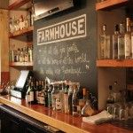 {Farmhouse Chicago} 'farm to tavern concept with a local seasonal focus on craft beer, food and liquor.' easily one of my new favorites in the city! they offer a huge cider selection + apple old fashioned was delish! we started with the cheese curds (perfectly battered!) and split the grilled romaine salad + ribeye - every bite was amazing!