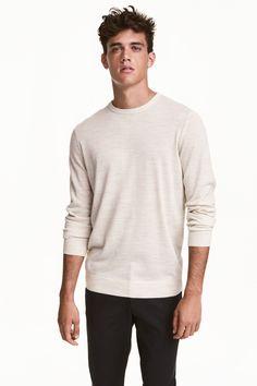 Merino-blend jumper | H&M