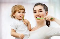 Tooth brushing, combined with flossing, is necessary to prevent cavities and gum disease, the two most common oral diseases that people might have. Tooth brushing is recommended after each meal in order to remove food debris from around teeth and gums. Dental Health, Oral Health, Dental Care, Emergency Dentist, Pregnancy Problems, How To Prevent Cavities, Dental Facts, Dental Problems