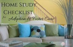 Free Printable Home study Checklist for foster care and adoption