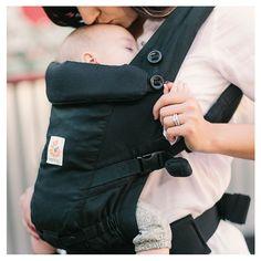 Ergobaby - Mochila Porta-Bebé Adapt Black