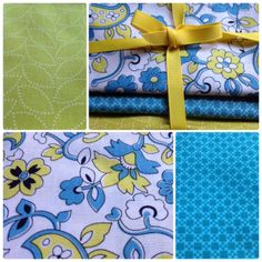 Repin to enter our Feb 28 #FlareFabricsTGIF giveaway of 3 fat quarters of Chicopee by Denyse Schmidt. #limegreen #paisley #fabric