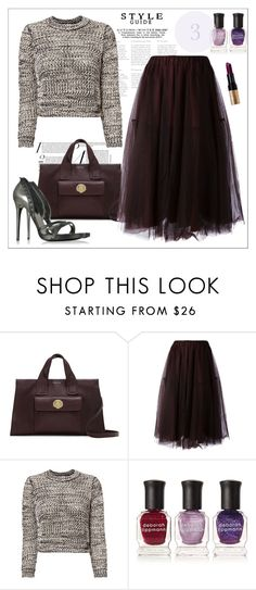 """Tulle Layer Skirt"" by biange ❤ liked on Polyvore featuring Louise et Cie, P.A.R.O.S.H., IDeeen, 10 Crosby Derek Lam, Deborah Lippmann and Bobbi Brown Cosmetics"