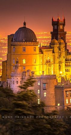 Pena Palace, Sintra, Portugal on imgfave