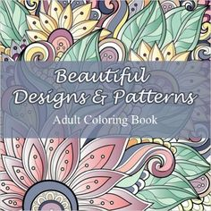 Beautiful Designs and Patterns Adult Coloring. by Lilt Kids Coloring Books for Like the Beautiful Designs and Patterns Adult Coloring. by Lilt Kids Coloring Books? Adult Coloring Book Pages, Coloring For Kids, Coloring Books, Mandala Design, Sargent Art, Abstract Words, Crazy Colour, Scrapbook Paper Crafts, Scrapbooking