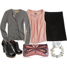 I love pink and grey!