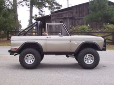About This Vehicle Mileage:8,315 Engine: V8 Body Style: SUV Transmission:Auto Exterior Color:Grey Interior Color:Tan VIN:U15GLE78101 Price:SOLD NICELY RESTORED 1969 FORD BRONCO WITH HALF CAB HARDTOP AND BIKINI TOP READY TO CRUISE AND ENJOY, GO 4 WHEELING, OR TAKE TO THE SHOWS! STANDS TALL….LOOKS GREAT WITH HARD TOP, BIKINI TOP, OR NO TOP AT ALL!! THIS …