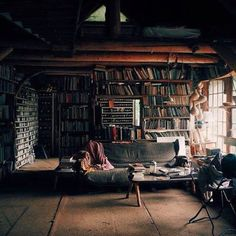 Dream home library. Casa Loft, Interior Architecture, Interior Design, Home Libraries, Home And Deco, Dream Rooms, Cool Rooms, My New Room, My Dream Home
