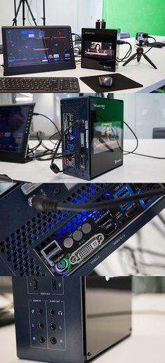 El TriCaster Mini pone el poder de difusión de televisión en el tamaño de una cartera