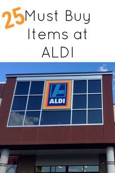 """25 Must Buy Items at ALDI, I just discovered ALDI and this site has a good list. Didn't know they had a """"sale"""" bin!"""