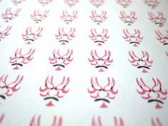 Japanese Kabuki art stickers, Japanese stationery, Gift wrapping, Japanese wedding, Traditional Japanese dance drama, Kabuki dance Hobonichi by JapaneseRubberStamps on Etsy