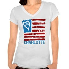 Show some USA pride with our patriotic, fun and stylish USA LOVE CHARLOTTE PAINT INSPIRED FLAG TEE.     Great for the 4th of July, your city celebration or anytime of the year so don't miss out grab yours today. www.citystyletees.com