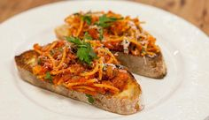 One Pot Spaghetti on Toast - Good Chef Bad Chef