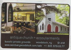 Love the idea of renovating an old church in the country