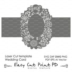 Dear Frends! Welcome to my store with the custom laser cut wedding invitations SanDePoliDesign https://www.etsy.com/ru/shop/SanDePoliDesign  Thank you for the interest in my store with the digital templates.  Before you make the purchase please try the test files to see if they work for you. As all my products are digital files I DO NOT accept refunds  SVG file https://www.dropbox.com/s/wtjxqa9xzvfw199/elk%20svg.svg?dl=0 DXF file https://www.dropbox.com/s/q8waiqxhikq9mb0/elk%20DXF.dxf?dl=0…