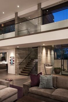 Mid-century design is a must! What do you think about these home design ideas! - Mid-century design is a must! What do you think about these home design ideas! Dream Home Design, Modern House Design, Modern Interior Design, Interior Architecture, Interior Ideas, Interior Stairs, Interior Inspiration, Modern Mansion Interior, Beautiful Houses Interior