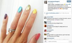 A Swedish athlete competing in Russia was asked to repaint her rainbow coloured nails #LGBT #Sochi2014