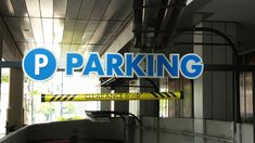 Image result for parking garage signage