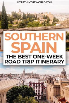 Southern Spain road trip: A travel itinerary with things to do and beautiful places in Andalucia Spain Road Trip, Road Trip Europe, Road Trip Destinations, Backpacking Europe, Europe Travel Guide, Road Trip Usa, Portugal Travel, Spain Travel, European Travel Tips