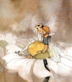 """Thumbelina"" Illustrated by Lisbeth Zwerger."