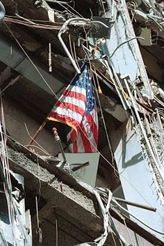 World Trade Center Building 6 - the building was destroyed, but everyone inside escaped. #WorldTradeCenter (One of the 4 Targets of #911 ) Remembering and Honoring the Heroes of 9-11-2001 9-11 #NeverForget #911 #Remembering911 9/11/2001