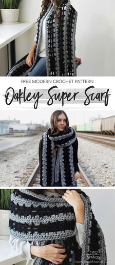Oakley Super Scarf pattern by Two of Wands