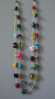 Double-Tiered Rainbow Necklace-$10 (No clasp, you can easily slip it straight over your head! :)