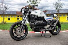 "BMW K100 RS #24 ""Racing"" - National Custom Tech Motorcycles"