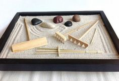 DIY tabletop zen garden ideas how to design mini zen garden rock gardens