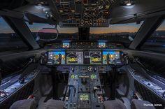 Gulfstream cockpit