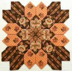 Block 9 - more beautiful Jo Morton fabrics!