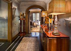 Interior Design Samuel Botero Featuring an Art DEco Rug From Doris Leslie Blau. SBA | Samuel Botero