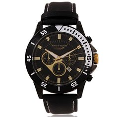 2f44d9079f6 Buy Swis N Track Genuine Leather Band Watch For Men