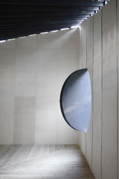 Image 4 of 9 from gallery of Best Room Pavilion / EAST + Aff Architekten. Photograph by Sebastian F. Black Architecture, Concrete Architecture, Amazing Architecture, Lausanne, Interior Windows, Cool Rooms, Light And Shadow, Building A House, Gallery
