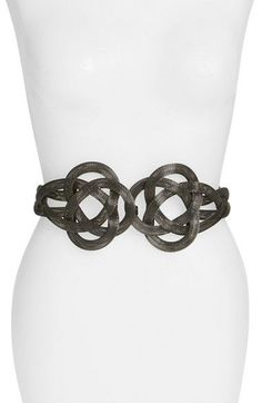 Free shipping and returns on Raina Mesh Stretch Belt at Nordstrom.com. Interlocking mesh metal loops to resemble a modern floral design on a stretch belt that perfects the look of any ensemble.
