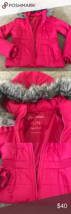 Aeropostale XL Girls winter jacket like new Aeropostale XL Girls winter jacket like new worn only once. This jacket can fit like a M in women as well in my opinion. Get ready for winter $40 Aeropostale Jackets & Coats