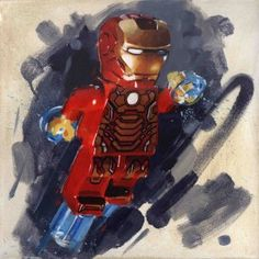 Iron Man from James Paterson available now from Evergreen Art Cafe
