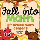 Fall is my favorite time of the year! I created this pack of 6 math centers to review skills that I have taught so far this year and keep them fres...