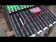 Disassembling a Ford Escape Hybrid Battery Pack for the Electric Motorcycle - YouTube
