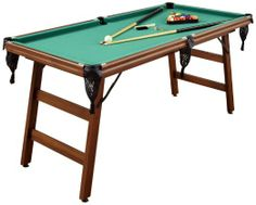Home Styles The Real Shooter 6-Feet Pool Table - Five Foot Pool Table     For those that don't have a lot of room...