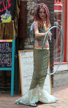 Mermaid hooper