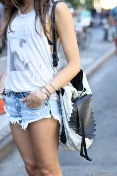 sideswiped: Milan in NYC's certified summer look #streetstyle
