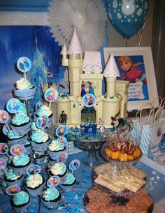 Disney Frozen Birthday Party!  See more party ideas at CatchMyParty.com!