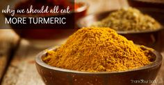 Wondering why you should eat more turmeric? You may have heard about some of the many amazing benefits of turmeric - if not, here's a quick run down. Benefits of Turmeric (and why you should eat more turmeric now) Turmeric (like this) is a root in the ginger family (and actually it looks quite